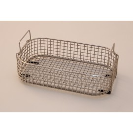 SONICA 2200 rectangular stainless steel basket