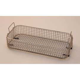 SONICA 2400 rectangular stainless steel basket