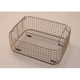 SONICA 3300 rectangular stainless steel basket