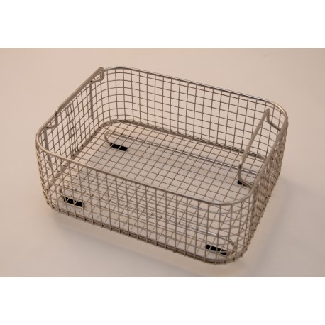 SONICA 3300 rectangular stainless steel basket