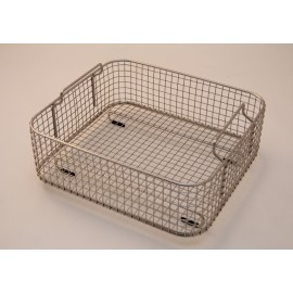 SONICA 4300 rectangular stainless steel basket