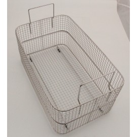 SONICA 45L rectangular stainless steel basket