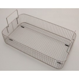 SONICA 5200 rectangular stainless steel basket